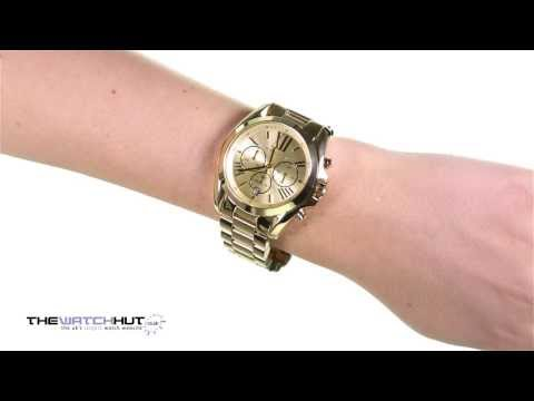 Michael Kors Bradshaw MK5503 - review by DiscountShop.com from YouTube · Duration:  2 minutes 32 seconds