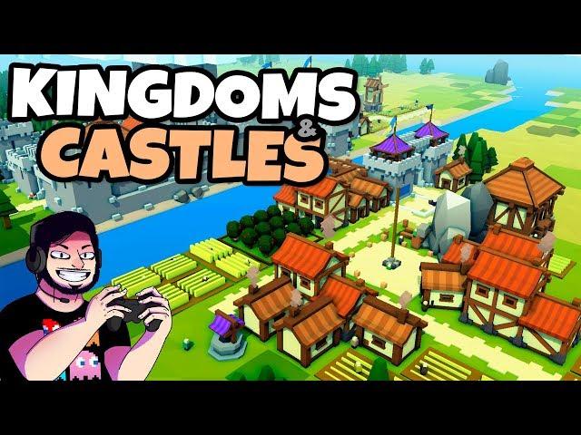 Reinos e Castelos! Nova Campanha   Kingdoms and Castles   Gameplay em Português PT-BR