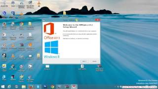 activated window 8 with KMSpico