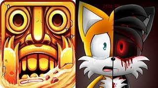 Temple Run 2 vs SONIC EXE TAILS FIGHT