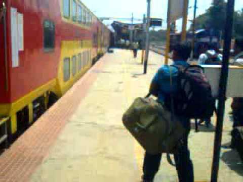 DD entering Krishnarajapuram