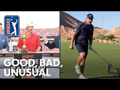 Bryson impresses in World Long Drive, English brings the Ryder Cup, Burns wins