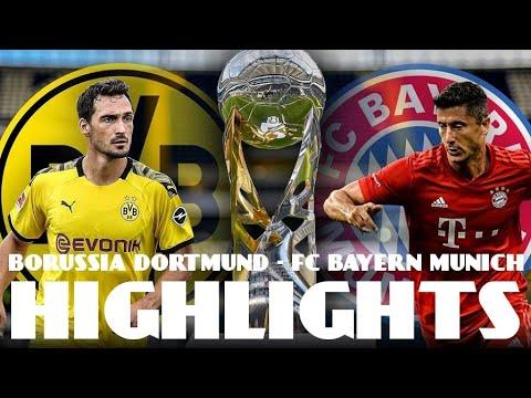 Download Borussia Dortmund VS FC Bayern Munich ALL GOALS & HIGHLIGHTS 2-0 SUPER CUP FINALE