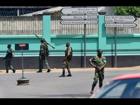 Nouvelle mutinerie à Abidjan: Vidéo de tirs au Plateau