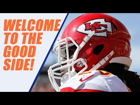 JAMAAL CHARLES Signs with BRONCOS