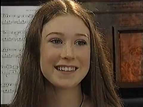 "Hayley Westenra in 2001 - report by ""60 Minutes"" on TV New Zealand"
