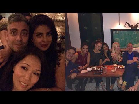 Priyanka Chopra Parties With Team 'Quantico'!