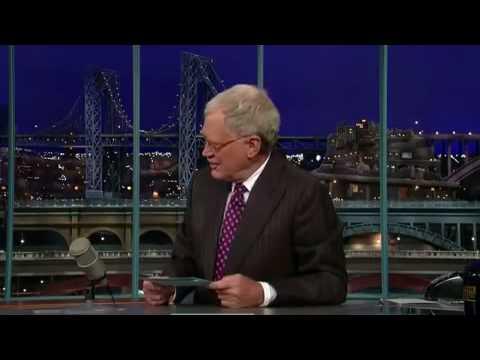 John Key - Late Show with David Letterman
