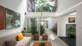 Gorgeous Home Split By A Covered Garden Atrium YouTube Videos