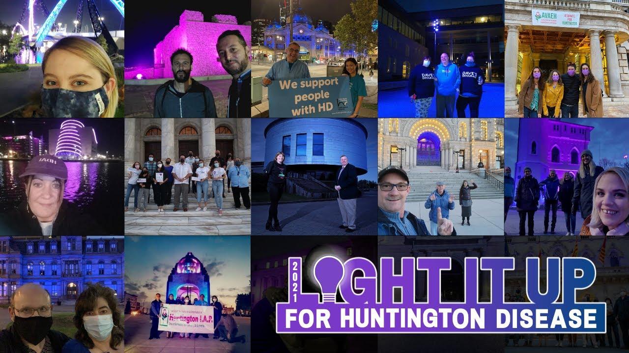 2021 #LightItUp4HD - die Bilder unserer Community!