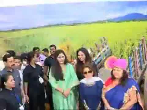 "Inauguration of Organic farm products ""Women of India Festival 2018"" in Mumbai   pankajatai"