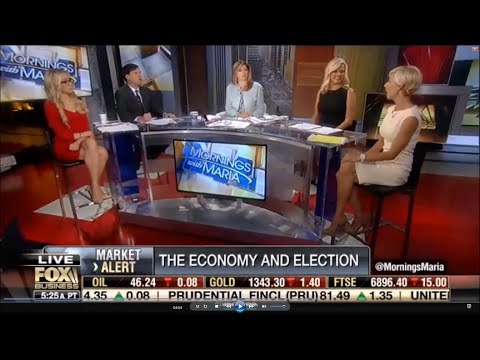 092316 Kat Timpf on Mornings with Maria  Stephanie Pomboys Economic Analysis
