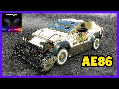 """Crossout #295 ► Toyota """"Sprinter Trueno"""" AE86 - Melee Build + Gameplay"""