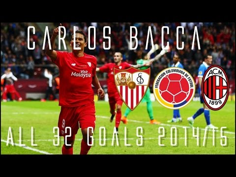 Carlos Bacca Ac Milan S New Signing All 32 Goals