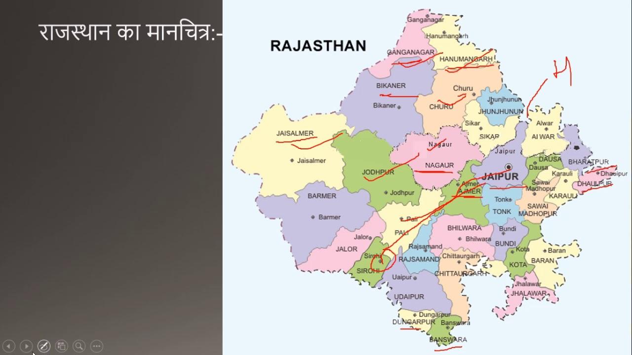 Map of rajasthan map of rajasthan altavistaventures Gallery