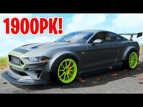 MIJN MUSTANG MET 1900PK! - Forza Horizon 4 thumbnail