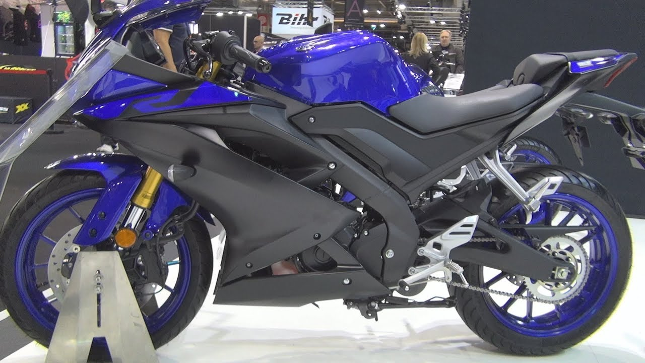 Yamaha Yzf R125 2019 Exterior And Interior