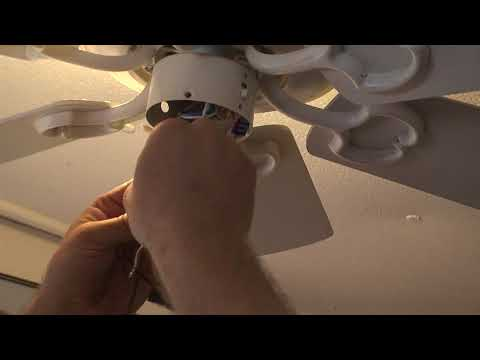 Replacing The Pull Chain Switch On The Hampton Bay Ceiling ... on