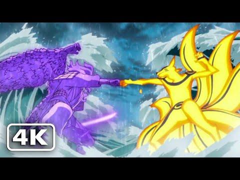 Naruto VS Sasuke Final Battle (4K 60fps) Naruto Storm 4 Next Generations [English Dub]