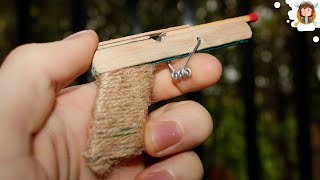 How To Make A Pocket Pistol Using Popsicle Sticks