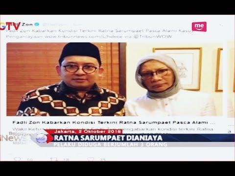 Benarkan Ratna Sarumpaet Dianiaya, Fadli Zon: Keji dan Biadab! - BIM 02/10