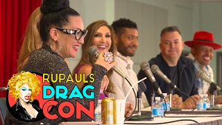 Michelle Visage, Candis Cayne, Ross Mathews & More from Only Judy Can Judge Me   The Judges of RPDR!