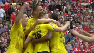 Barnsley 3-2 Oxford Utd EFL Trophy Final Highlights (15/16)