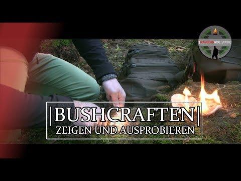 Bushcraften Kennenlernen | Zeigen Und Ausprobieren