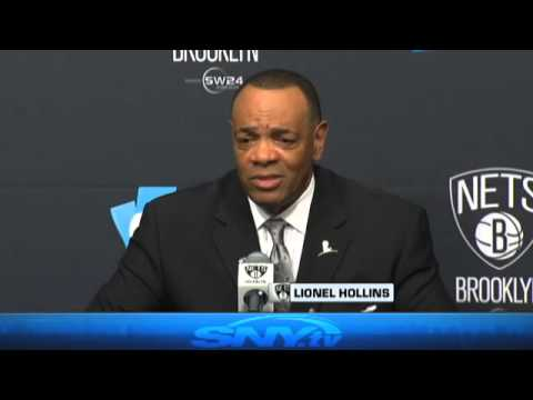 Nets introduce Lionel Hollins