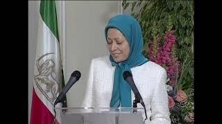 Maryam Radjavi rencontre des personnalités politiques 02.04.2005