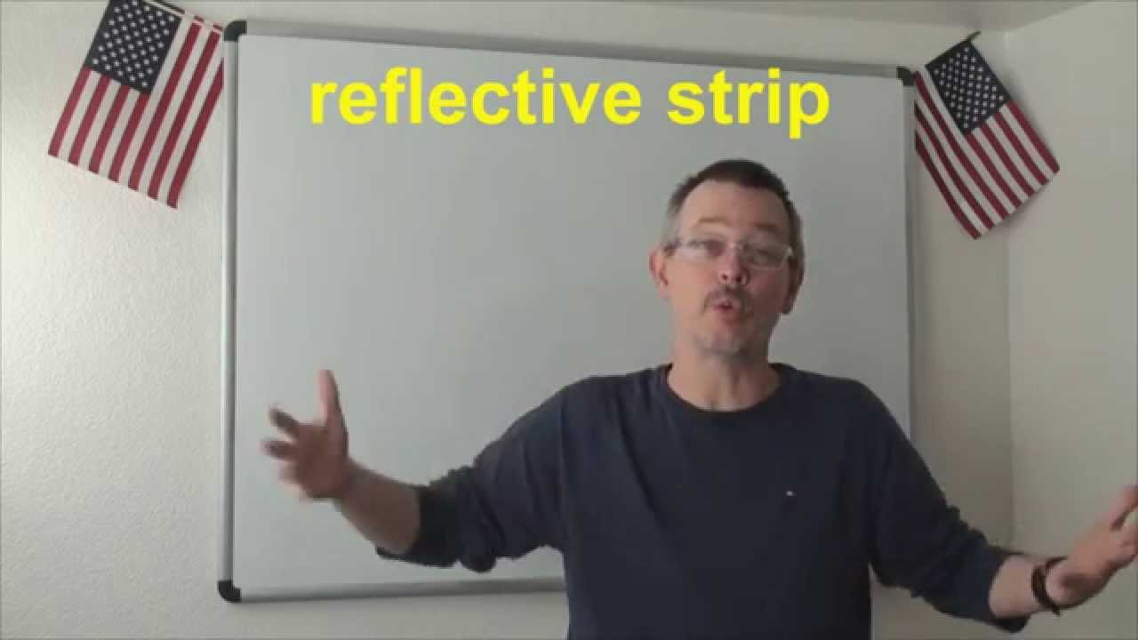 Download Learn English: Daily Easy English Expression 0642: reflective strip VS reflector PLUS MORE!!