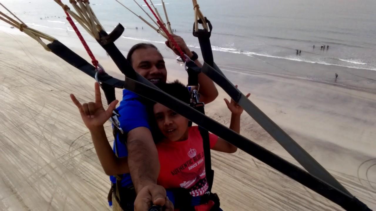 Parasailing at Diveagar Beach, Maharastra #1