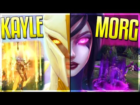 KAYLE & MORGANA REWORK TEASER LEAKED!! What Are Their Abilities??? - League of Legends thumbnail