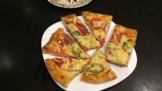 Огромная Пицца * Рецепт Тесто  для Пиццы *  Простой и очень Вкусный