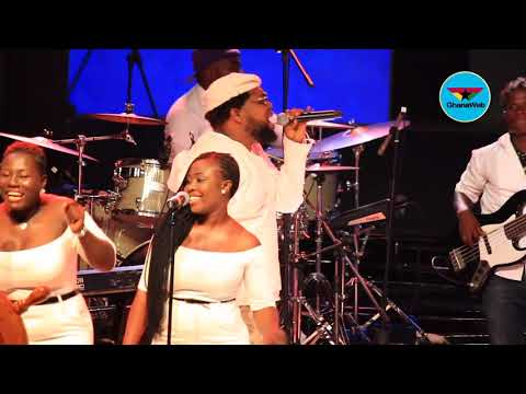 Knii Lante's performance at Stanbic Jazz Festival