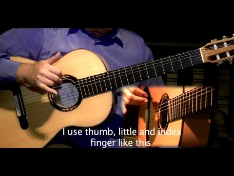 Flamenco Guitar Alegrias lesson by Jose Manuel Montoya-Clase