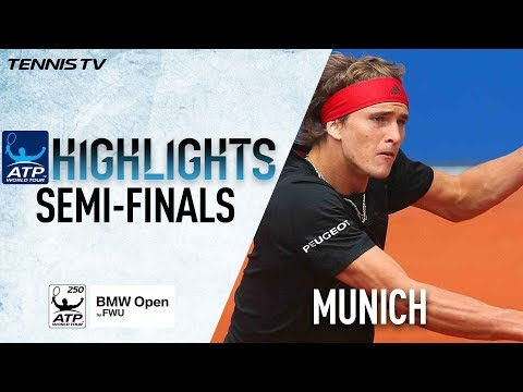 Highlights: Zverev & Kohlschreiber Set All-German Final In Munich 2018