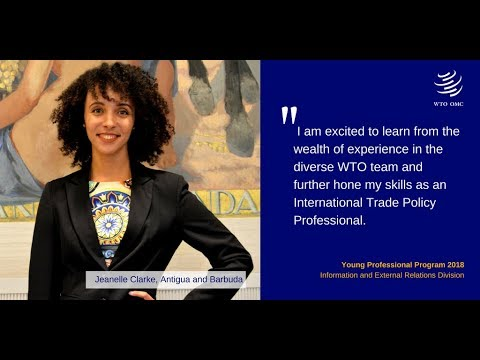 Jeanelle Clarke - WTO Young Professional 2018