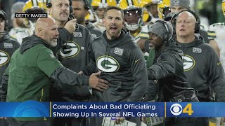 Very Bad NFL Officiating Week Ends With Controversial Packers-Lions Calls On Monday Night Football