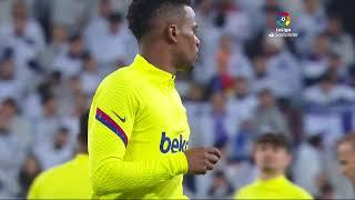 Calentamiento Real Madrid vs FC Barcelona - ElClásico