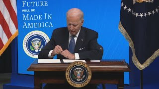 Canada seeks exemption under Biden's 'Buy American' plan