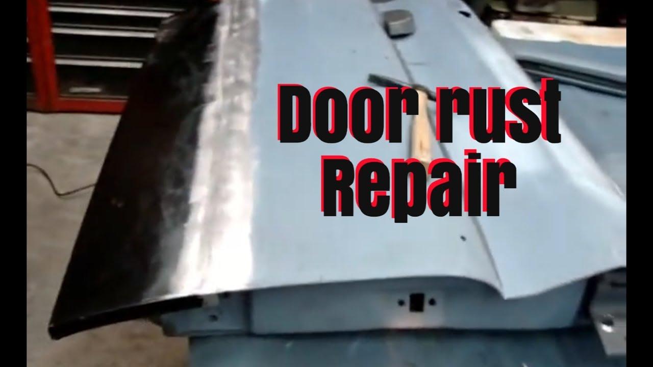 Lower Door Bottom Rust Repair Youtube