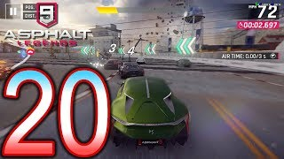 ASPHALT 9 Legends Switch Walkthrough - Part 20 - Chapter 2: Green Machines