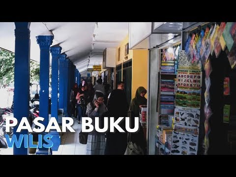 Pasar Buku Wilis - Kota Malang