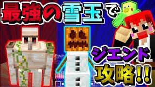 【マインクラフト】ダブルゴ-レムの変身コンボでジエンド攻略!!【赤髪のとも】meta morph MOD実況10
