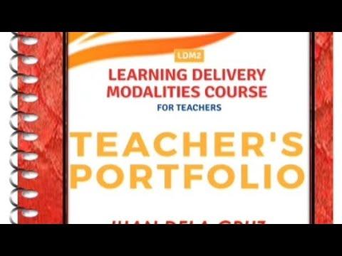 Download LDM2 Portfolio for Teachers