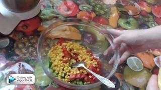 самый быстрый салат Светофор