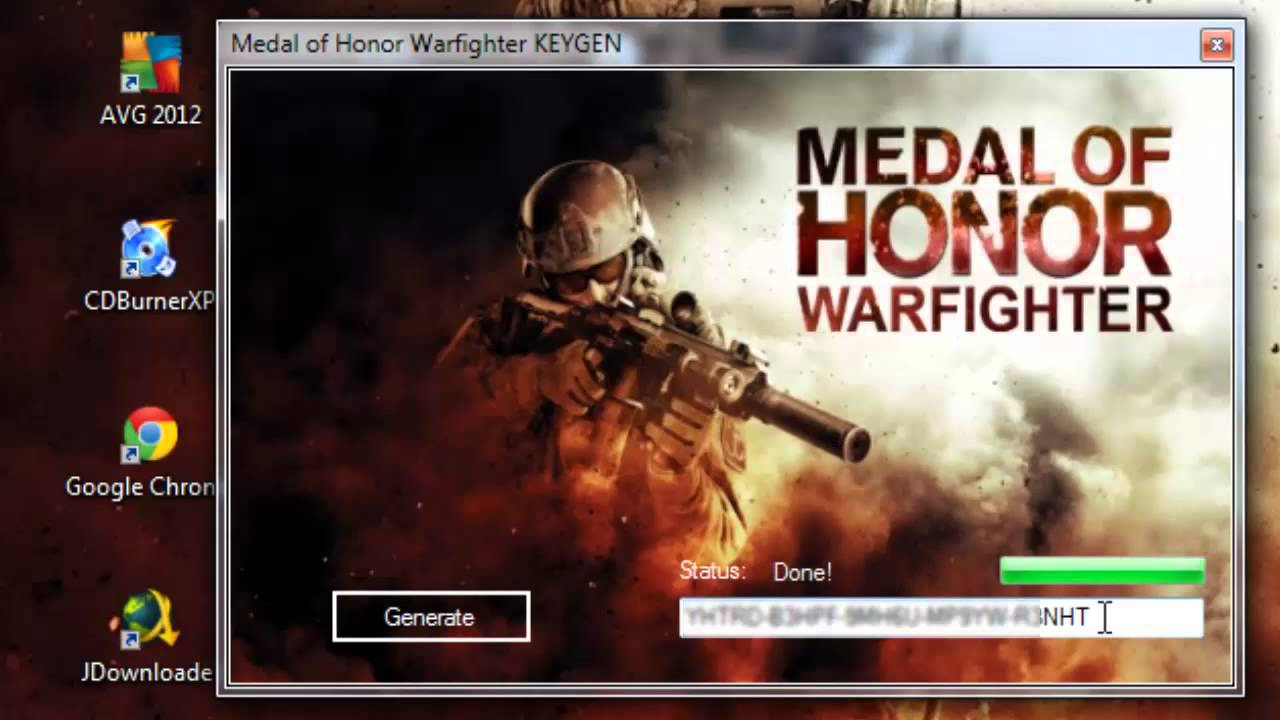 Free warfighter medal honor of Medal of