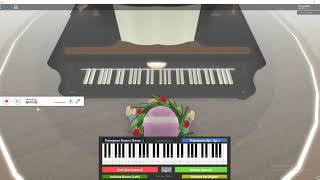 Wet hands piano{minecraft} roblox piano sheet