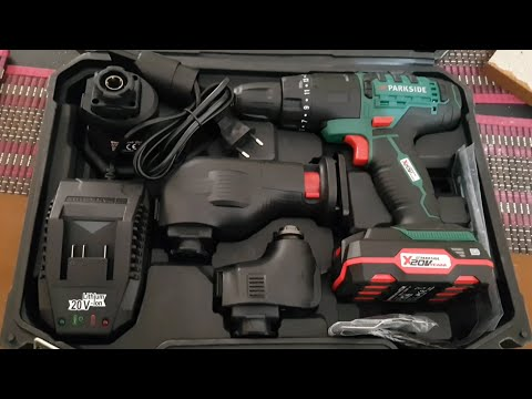 Parkside 4 in 1 Cordless Combination Tool PKGA 20-LI A1 Testing